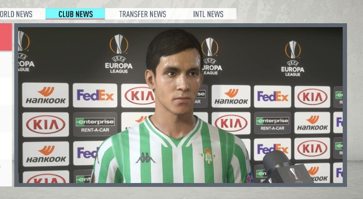 fifa 21 news on twitter fifa20 new player interviews after champions league and europa league games europa league games