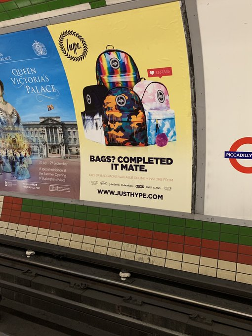 Spotted this in London, you ve probably seen it a million times. Happy Birthday!