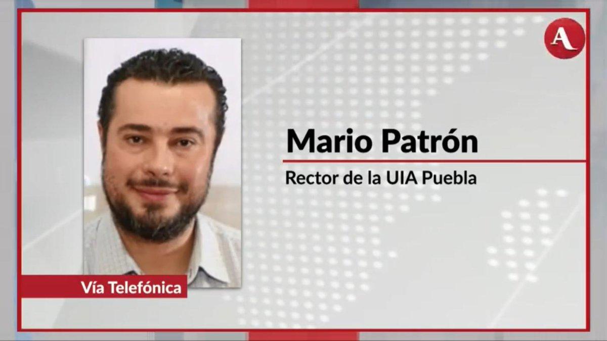 """Mario Patrón, rector de la UIA Puebla, explica la agenda """"De la Reflexión a la Acción"""", 14 ejes de acción que son propuestas dirigidas a los tomadores de decisiones públicas, en particular para el gobierno del estado, en #AristeguiEnVivo 👉http://ow.ly/zNkw30plNXG"""