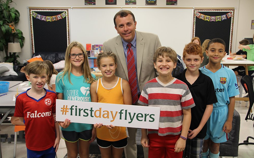 One More Sleep! Make sure to share your back-to-school moments with us tomorrow by using #FirstDayFlyers!
