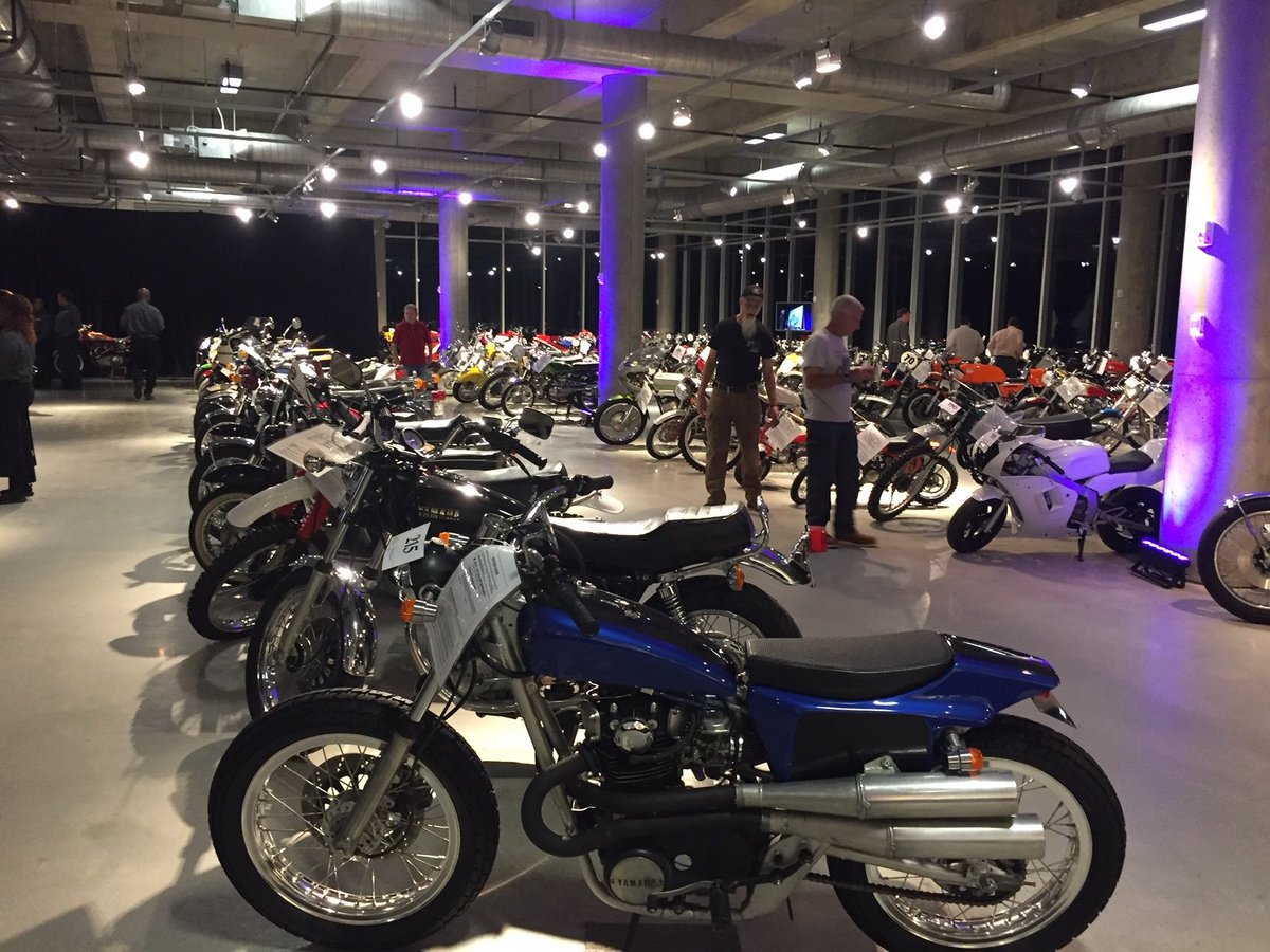 Join us at Motorcycles by Moonlight, hosted by @BarberMuseum Oct 4th. It will be an evening of food & entertainment, with a chance to meet this years #BVF19 Grand Marshal AMA Hall of Famer, John Penton! ↓ Get your tickets 🎟 before they sell out ow.ly/zeVB50vxmAA