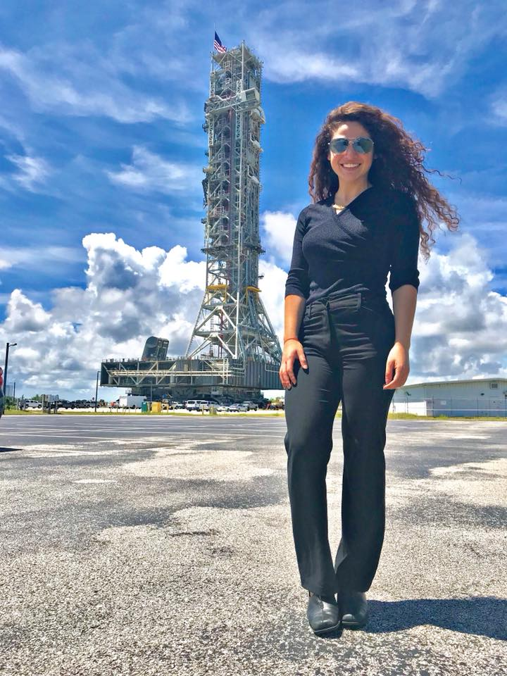 "When Margarita Bassil was discouraged by the lack of women in her engineering courses, she told herself JFK's famous quote: ""We choose to go to the Moon in this decade...not because they are easy, but because they are hard."" Learn about our @NASAInterns: go.nasa.gov/2OI6yG0"