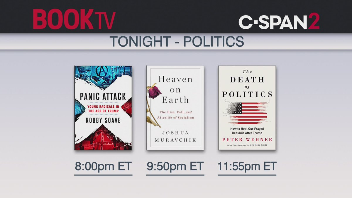 Starting shortly on @BookTV (C-SPAN2).
