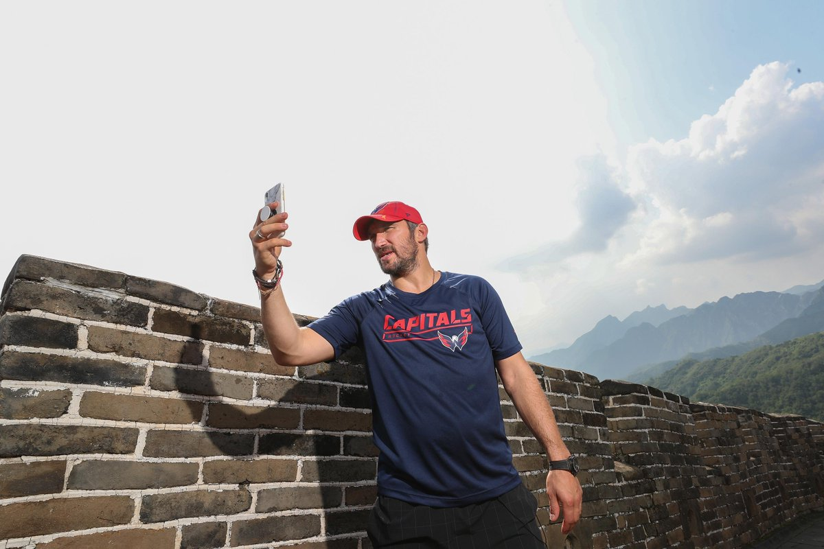 PHOTOSHOP BATTLE We sent Alex Ovechkin to China, now it's your turn to send @ovi8 somewhere. Post yours ⬇️.