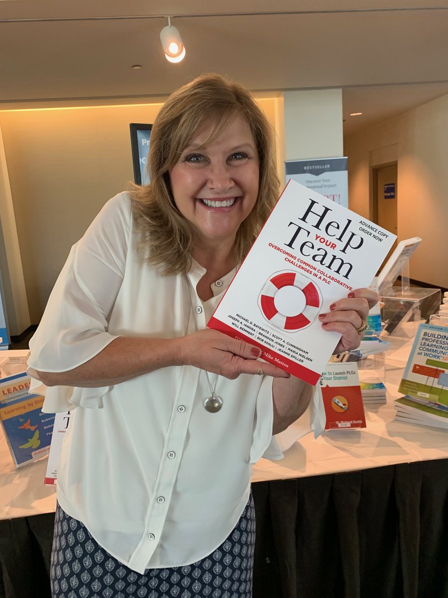 #atplc One of Solution Tree's newest authors! A great book for coaches and team leaders!!