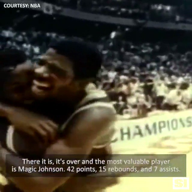 Celebrating Magic Johnson's 60th birthday 🙌