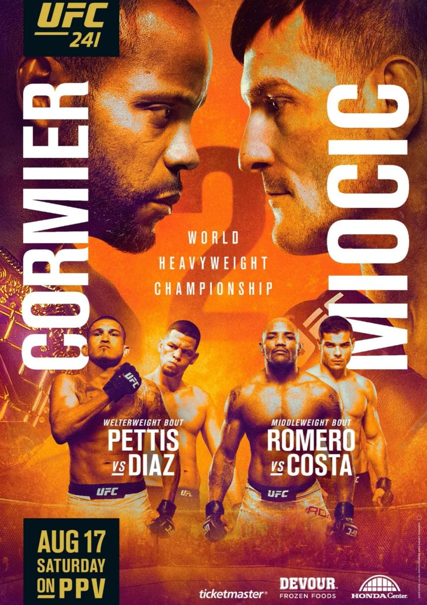 """#UFC241 - """"Prediction Show"""" out TOMORROW 9pm EST!   Giving out FREE PLAYS and Betting Advice for this #UFC event! #GamblingTwitter  WATCH ALL SHOWS HERE: 👇 http://youtube.com/c/MrUFCVegasFightClubTV…"""