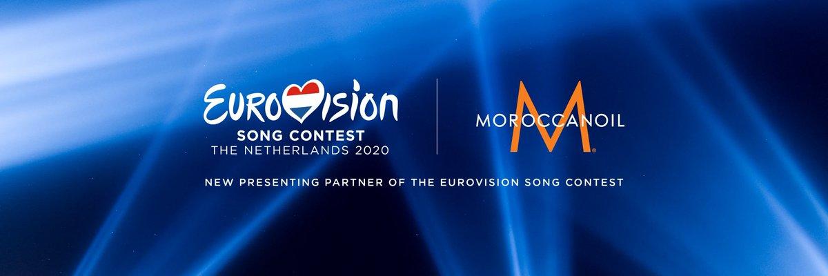 Saç bakım markası Moroccanoil, 2020 Eurovisionun sponsoru oldu. @Moroccanoil