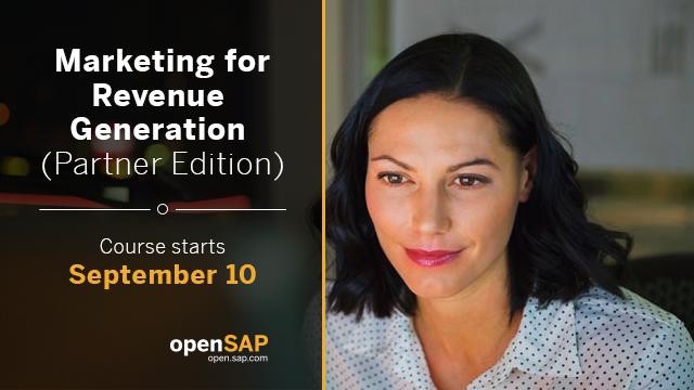 Learn how to structure a marketing plan to help generate revenue with this free #SAPPartner course!  http:// sap.to/6014E0SxO    <br>http://pic.twitter.com/W7hj9Crf5H