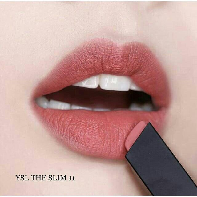 YVES SAINT LAURENTㅣRouge Pur Couture The Slim Matte Lipstick  1,250.-  แนะนำ 10,11,12,17 <br>http://pic.twitter.com/pEnIZiRvCf