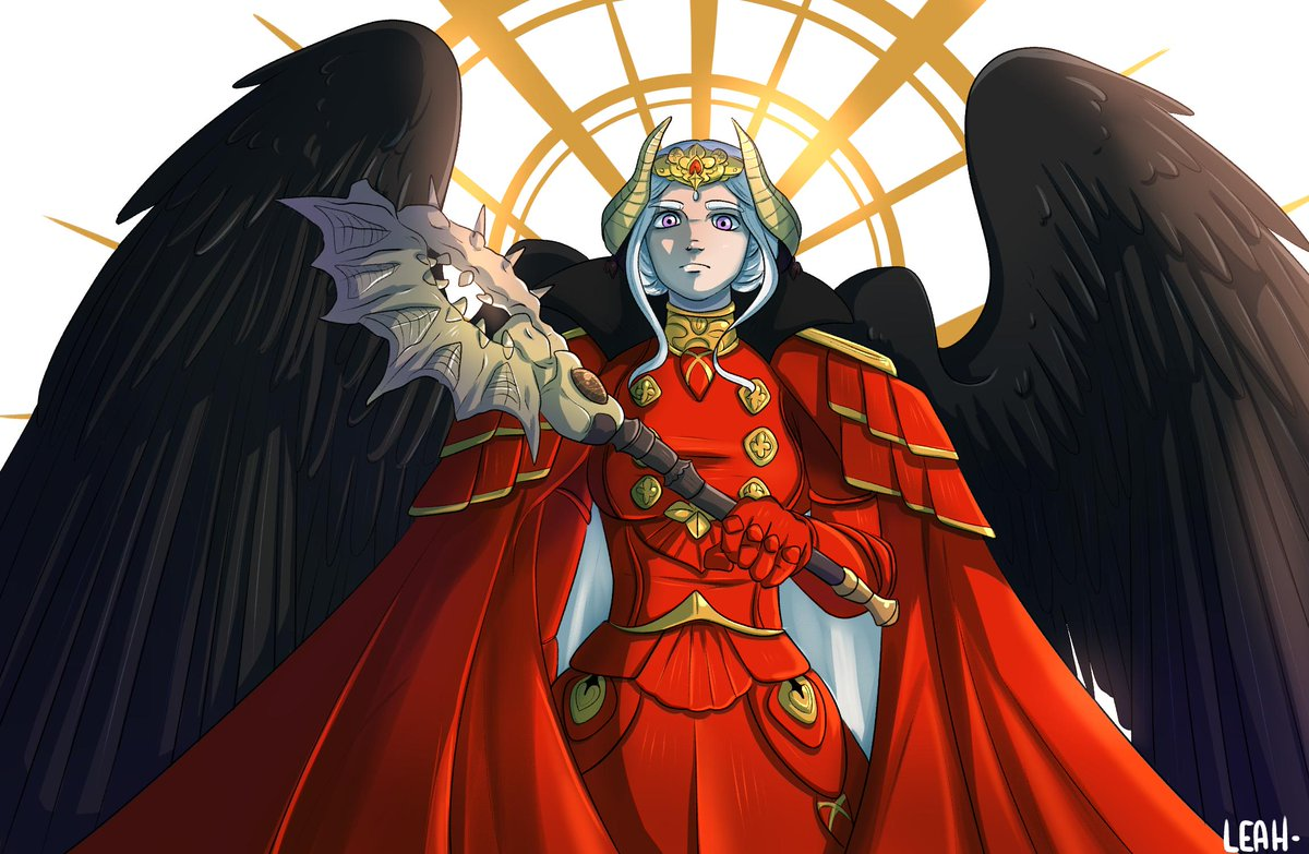 Leah On Twitter Edelgard The Black Eagle From Fire Emblem