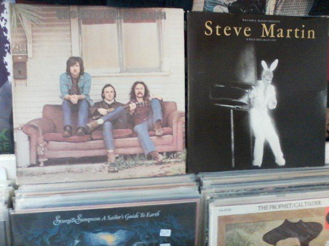 Happy Birthday to David Crosby & Steve Martin
