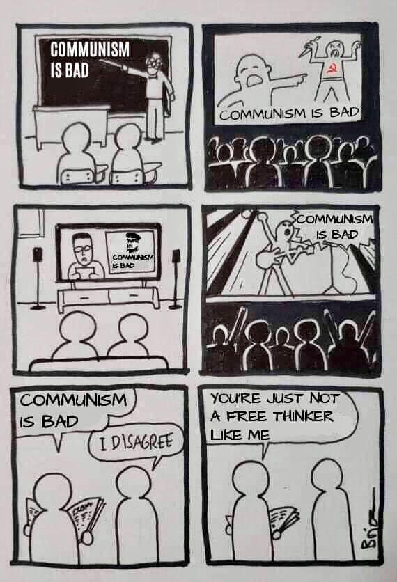"In light of the inevitable ""Evil Marxism"" takes"