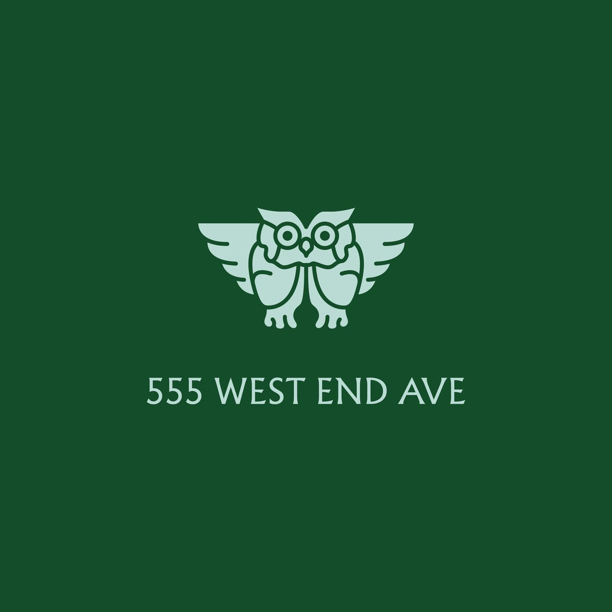 .@LukeHayman & team design the brand identity, marketing campaign & website for 555 West End Avenue, a former private high school on NYs Upper West Side transformed into luxury residences pentagram.com/work/555-west-…