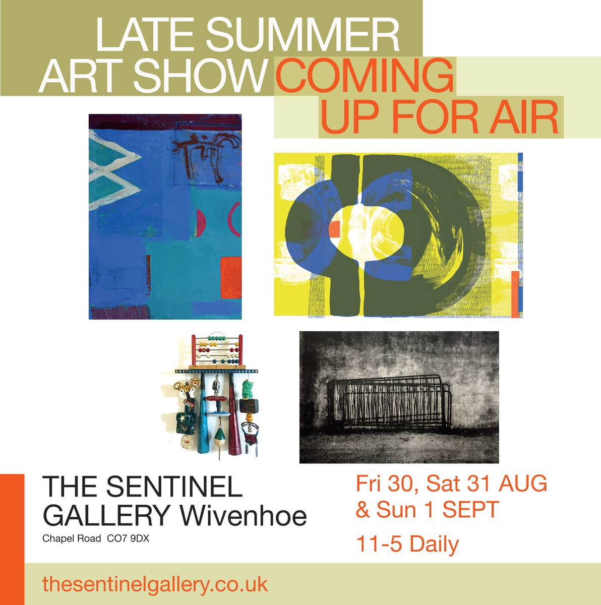 I'll be part of this group art show in #wivenhoe at the end of August. Come and meet us! <br>http://pic.twitter.com/Eeepa0t7Km