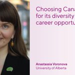 Image for the Tweet beginning: When @AMVoronova came to Canada