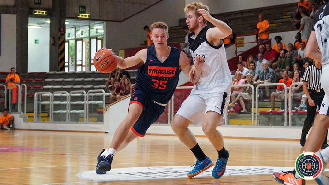 Syracuse throttles Oxygen Bassano in second game of Italy tour