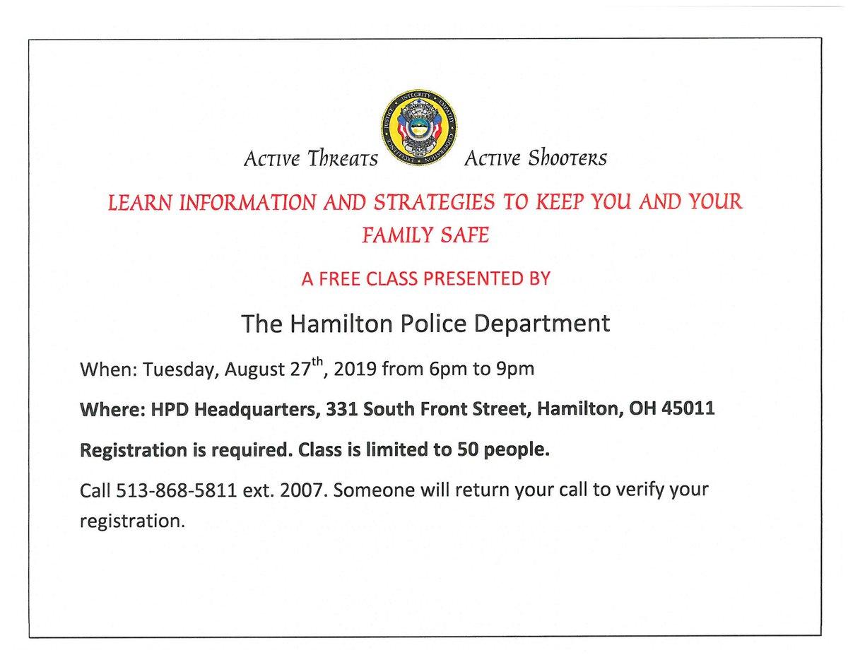 Hamilton Ohio Police (@HamiltonOhioPD) | Twitter