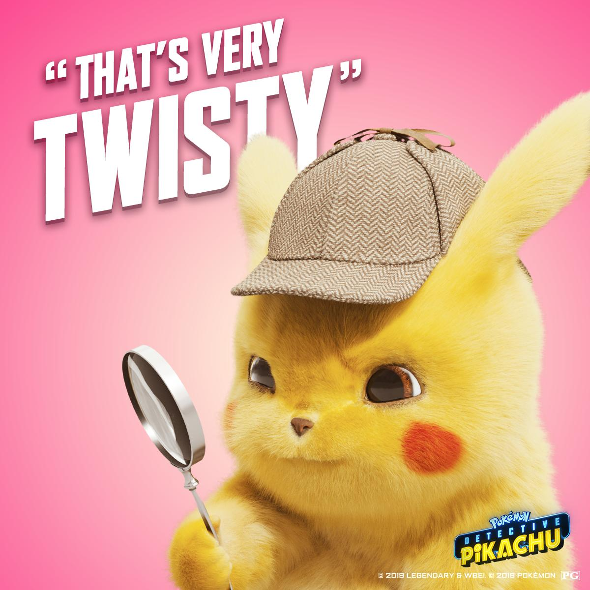 What's your favorite #DetectivePikachu quote? 🔎
