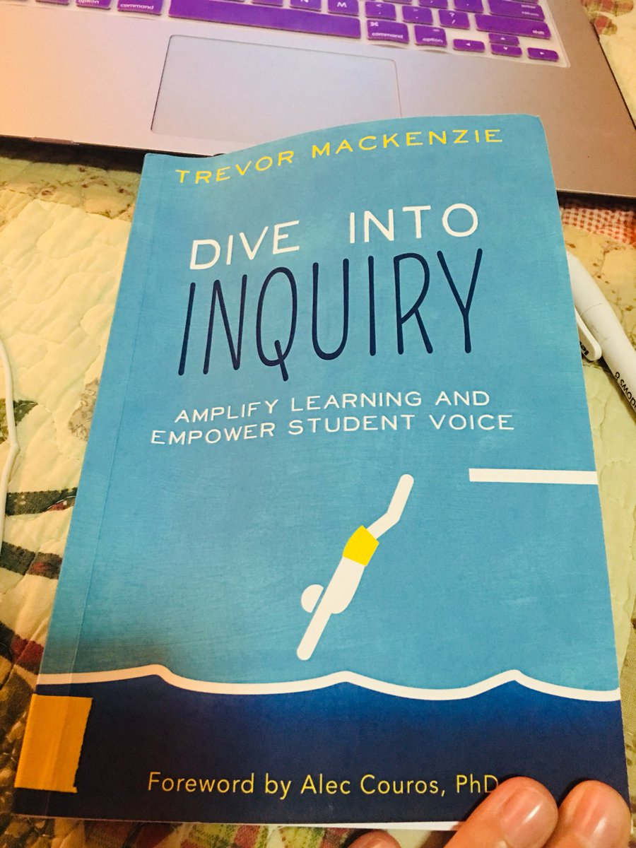 Ready to dig into deeper 😍 #lifelonglearners #DiveintoInquiry @trev_mackenzie