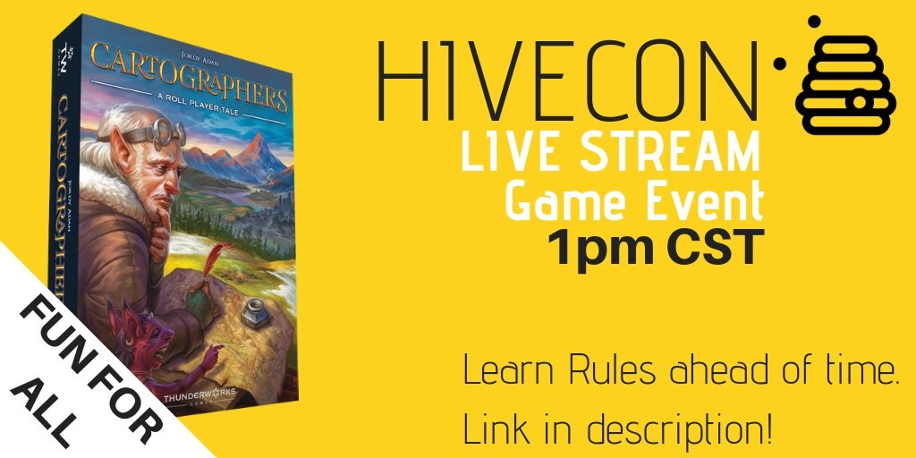 Super jazzed to be doing my first game on my YouTube Channel. It is part of the #HiveSummit Come join in now!