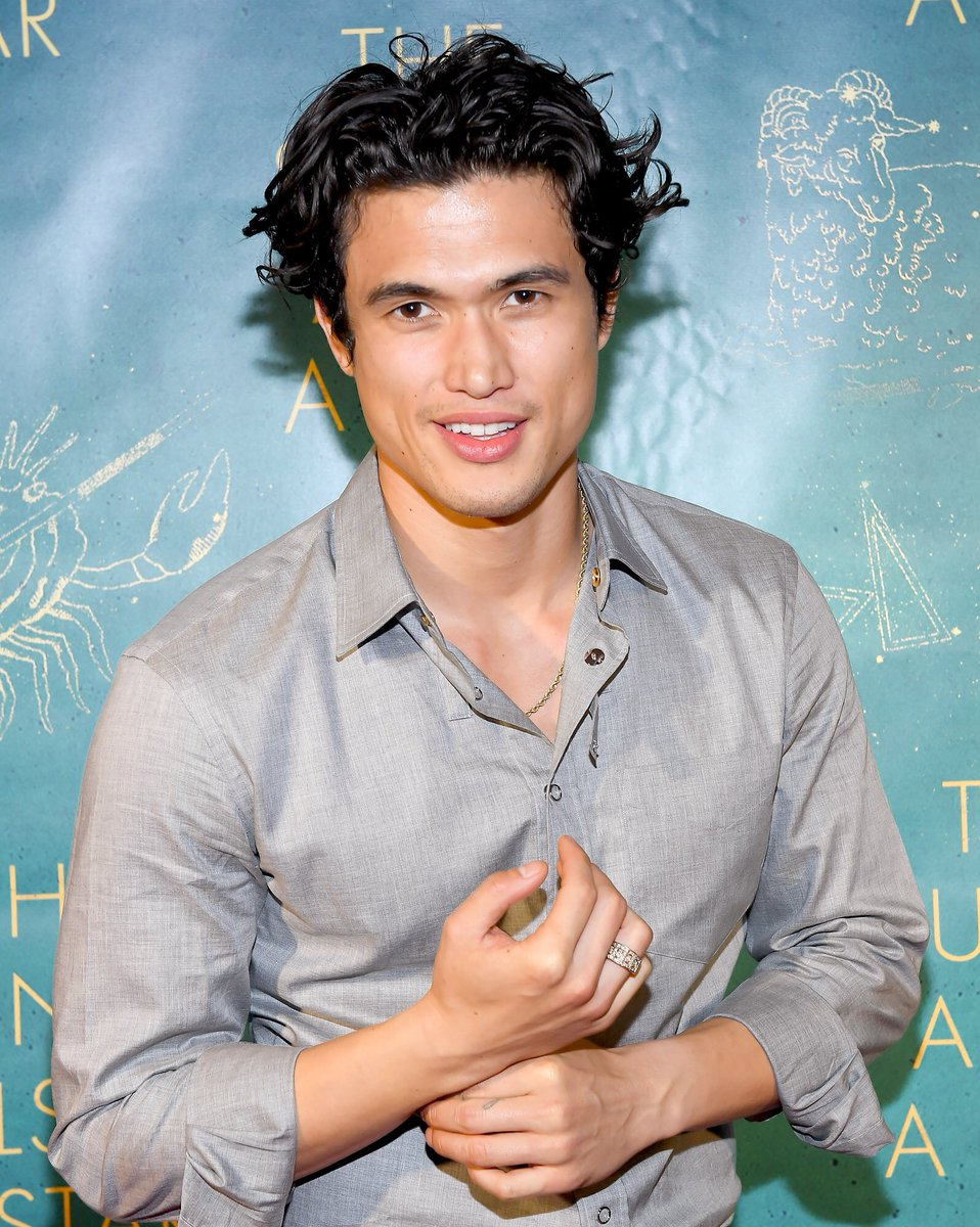 Can't believe Disney went to Harry Styles for Prince Eric when Charles Melton's wet lil face is sitting right there. <br>http://pic.twitter.com/jC5hxBUa9M
