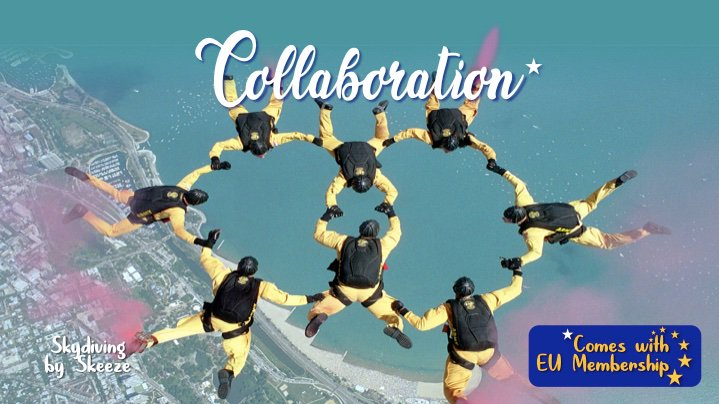 .@BorisJohnson has today branded Remainers collaborators. Thats 53% of the country according to the poll of polls tweeted by Prof. Curtice tonight. So heres a celebration of collaboration in and with the EU. Proud to be an EU citizen! #ComesWithEUMembership #StopBrexitSaveUK