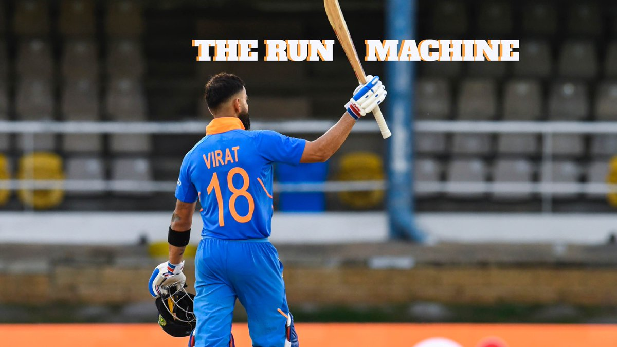 On @My11Circle presents #CricbuzzLIVE, @bhogleharsha, @ImZaheer & @cricketaakash laud Virat Run Machine Kohlis 43rd century and believe his hunger to perform well is the reason behind his consistency. @weatherindia #KingKohli #ViratKohli #WIvsIND