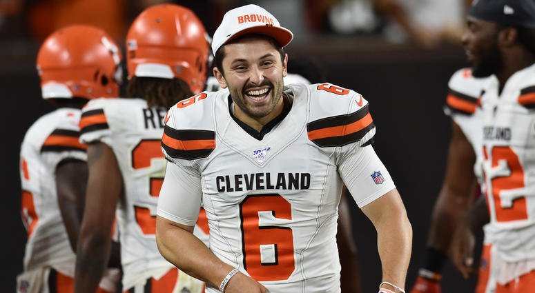 .@SeanUnfiltered on @BullandFox: Baker is a culture-changer, what team wouldnt want No. 6 running their show with that confidence #Browns bit.ly/2N0hbBA