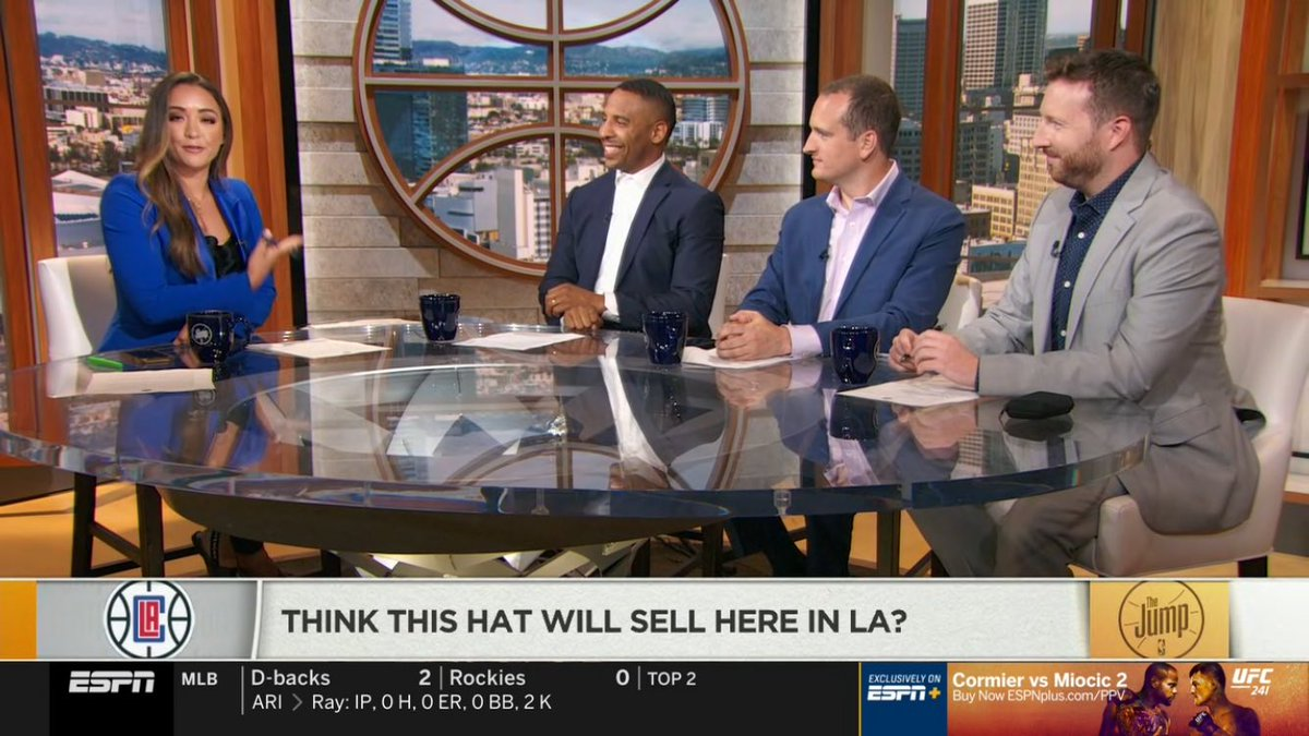 It's The Jump on @espn right now and @CassidyHubbarth is hostinggggg