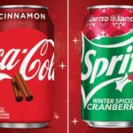 Image for the Tweet beginning: Too soon? Never. Coca-Cola Cinnamon
