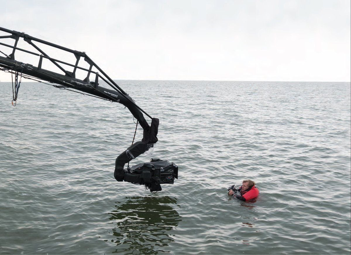 'Christopher Nolan Directing Dunkirk While In Water': A Series.