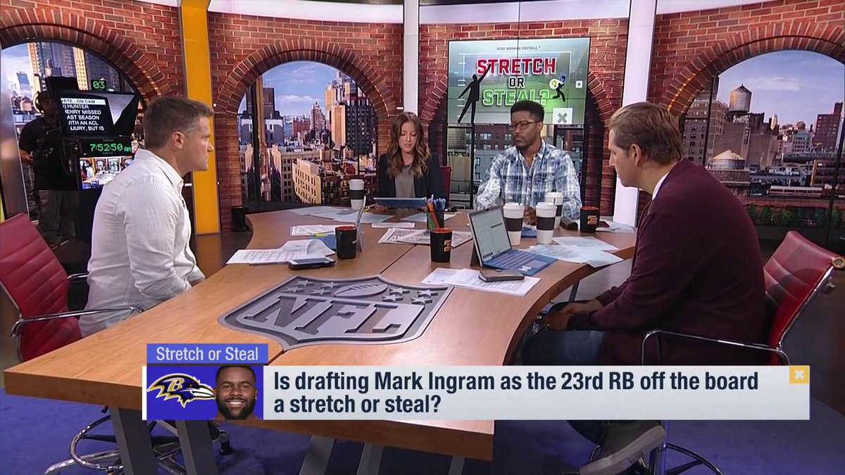 Is it a #StretchOrSteal if @Hunter_Henry84 is the 5th TE off the board? @heykayadams will tell you. @NFLFantasy | #FantasyFootball