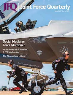 NORAD and USNORTHCOM Commander, Gen. O'Shaughnessy, talks #HomelandDefense, global threats, #MissileDefense, the #Arctic and more, in an interview with Joint Force Quarterly. See page 4! #WeHaveTheWatch @DeptofDefense   https:// ndupress.ndu.edu/Portals/68/Doc uments/jfq/jfq-94/jfq-94.pdf  … <br>http://pic.twitter.com/OlwFATft3N