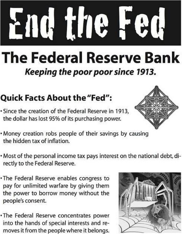 Americans are Awakening to the Fed scam  Fed Reserve Act