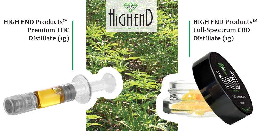 HIGH END #Concentrates 🍯 - Premium THC #Distillate (1g