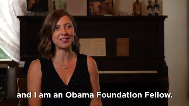 Some of America's most inspiring stories are nestled in the communities of rural towns. One of our #ObamaFellows is using community theatre to bring these stories to life—and shift the narrative about what it means to live and work outside of big cities.