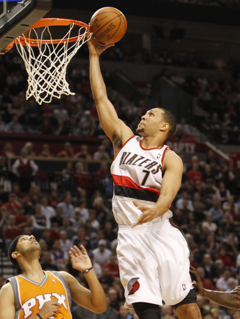 Seeing Brandon Roy trending all day has made me spend way to much time remembering when he was healthy and killing it in the league. Oh what could have been...