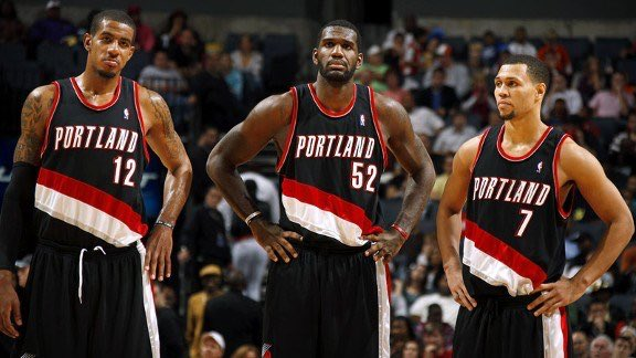 The Blazers went 50-12 in games LaMarcus Aldridge, Greg Oden and Brandon Roy all played 😔