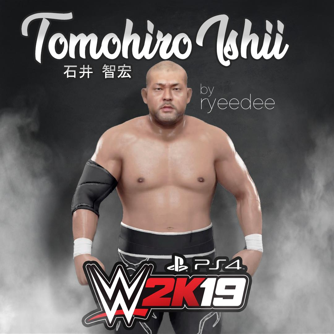 To @WWEgames #WWE2K19 fans,  #TomohiroIshii #caw aka #石井智宏 is now on #cc for #PS4.  Download now, search tag: RYEEDEE @OfficialCAWsWS @SmackNetwork @ElementGamesTV @TheSDHotel #RYEEDEE #WWEUniverse #NJPW #njpwworld #StonePitbull #Chaos #Ishii #IshiiTomohiro<br>http://pic.twitter.com/oDSrypFWK3