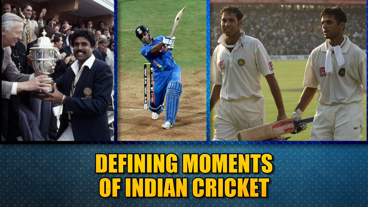 Cricket unites this nation and on Independence day @bhogleharsha, @ImZaheer & @cricketaakash share some of their favourite moments from #IndianCricket history. Which are your favourite moments? Tell us using #CricbuzzLive @My11Circle @weatherindia #WIvIND #IndependenceDayIndia