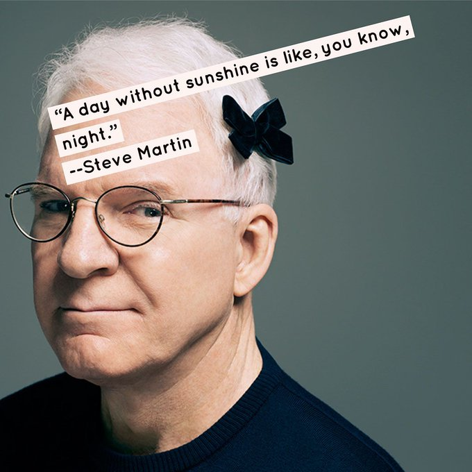 Steve Martin was born in 1945. Happy Birthday!