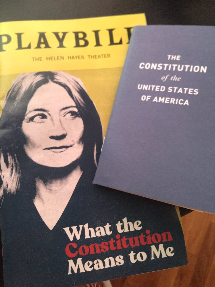 Could only see one of the Broadway shows closing soon and I definitely chose right. Thank you @heidibschreck for this incredible show.