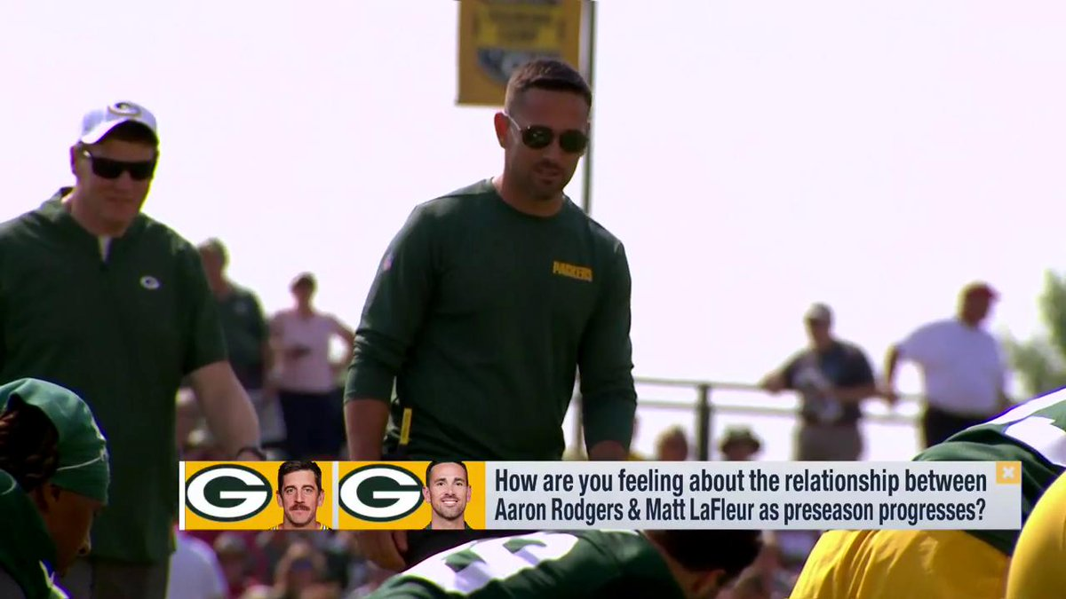 I know theyre both excited. I also know that theyre speaking the same language, on the same page, and fired up to get it going. Read and believe what you want - theyre in a great place. @packers fans should be pumped. @PSchrags on the HC/QB connection in Green Bay.