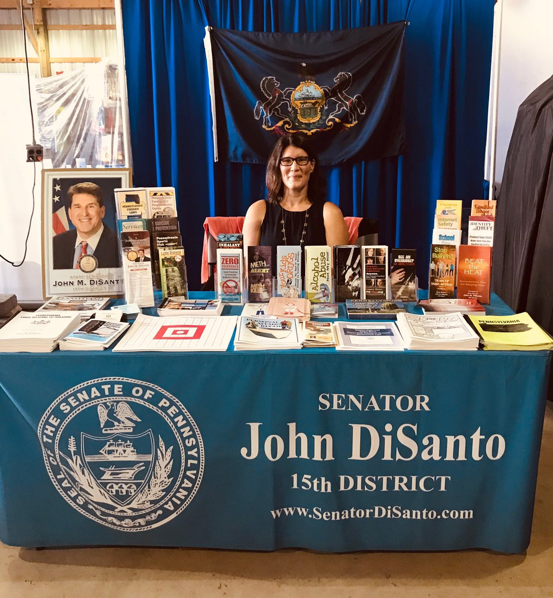 Stop by and visit my booth at the Perry County Fair (pecofair.org) all week!