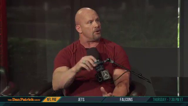 .@steveaustinBSR gives the origin story of how he became Stone Cold Steve Austin @WWE
