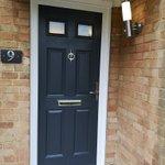 Image for the Tweet beginning: New composite door install in