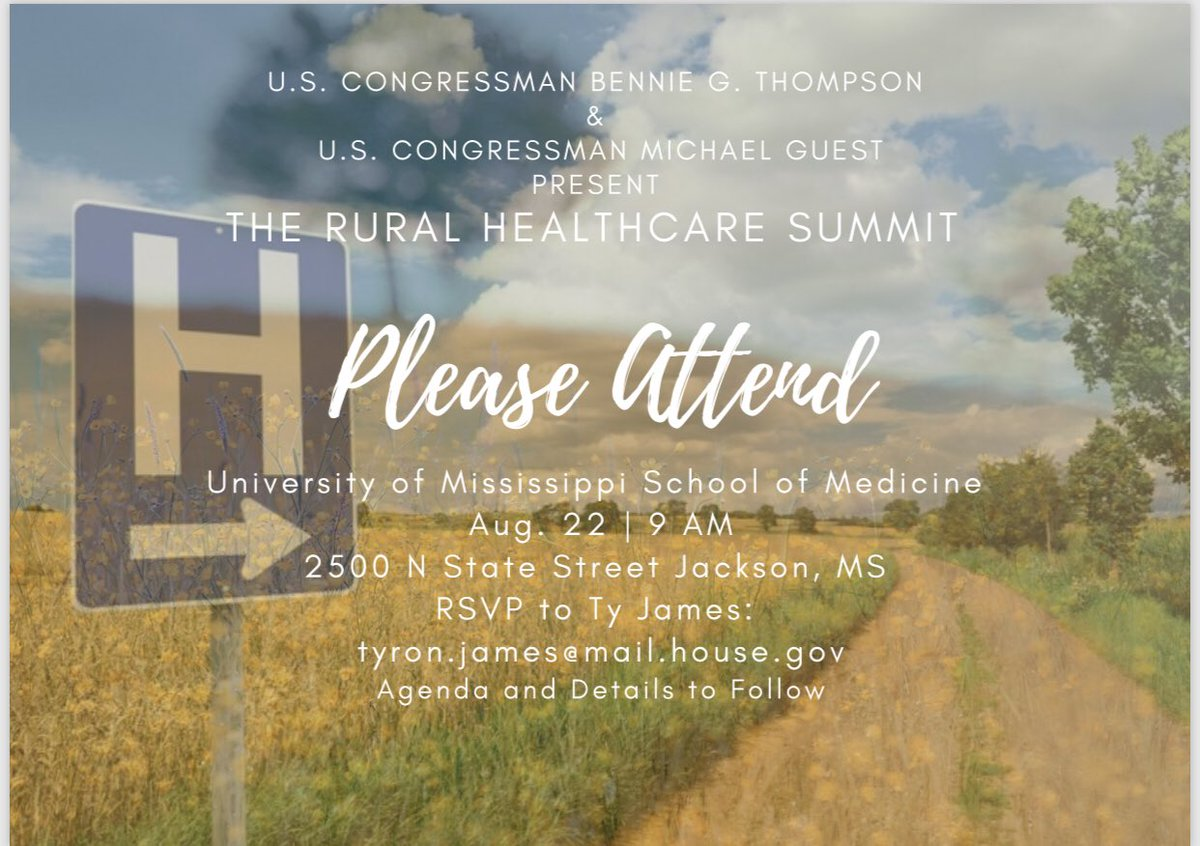 There are a lot of challenges with Mississippi's rural healthcare. Let's have a conversation.