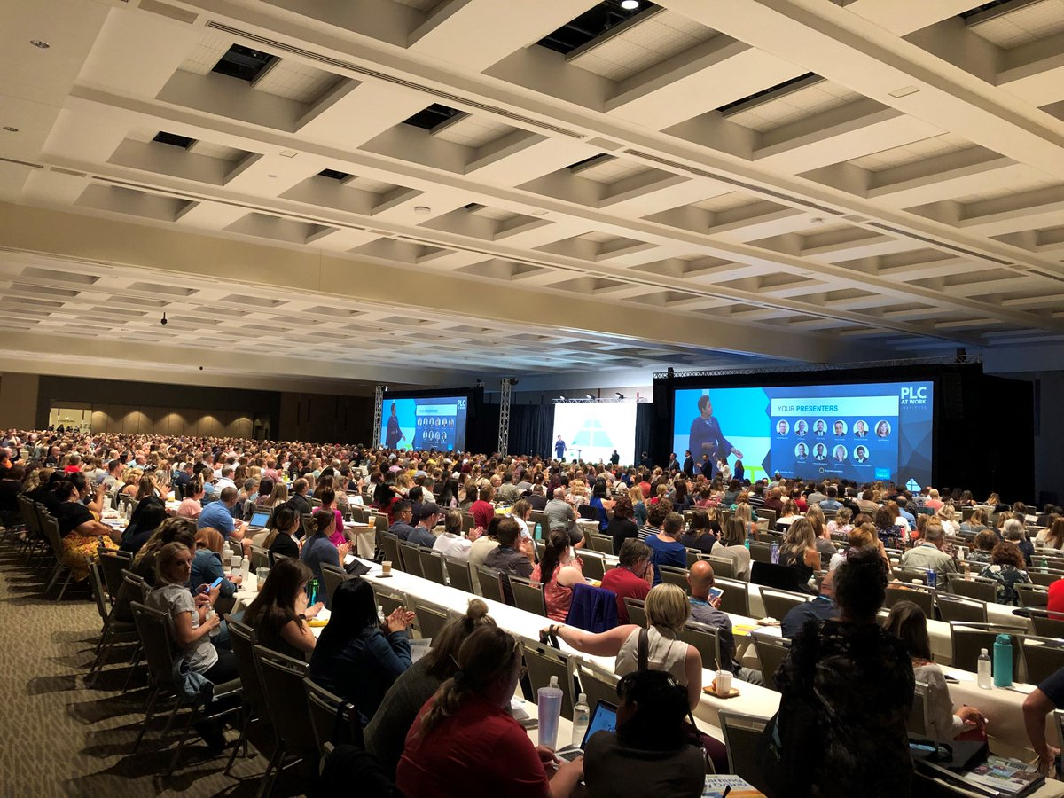@Regina_Owens kicked off the Professional Learning Communities at Work® Institute in Seattle, this morning. #ATPLC