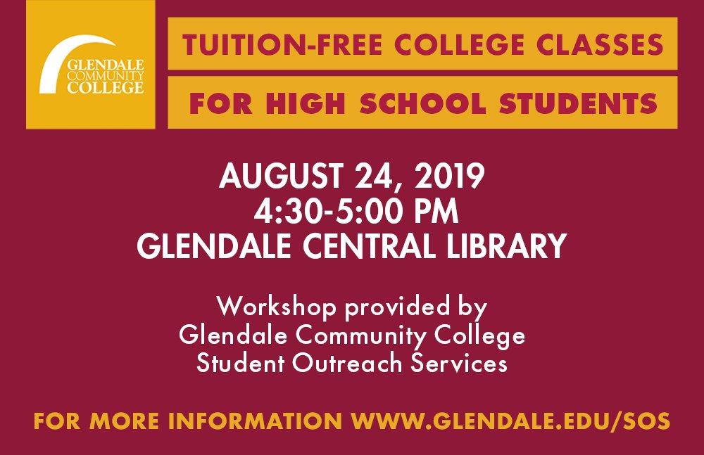 Glendale College CA (@GCCPIO) | Twitter